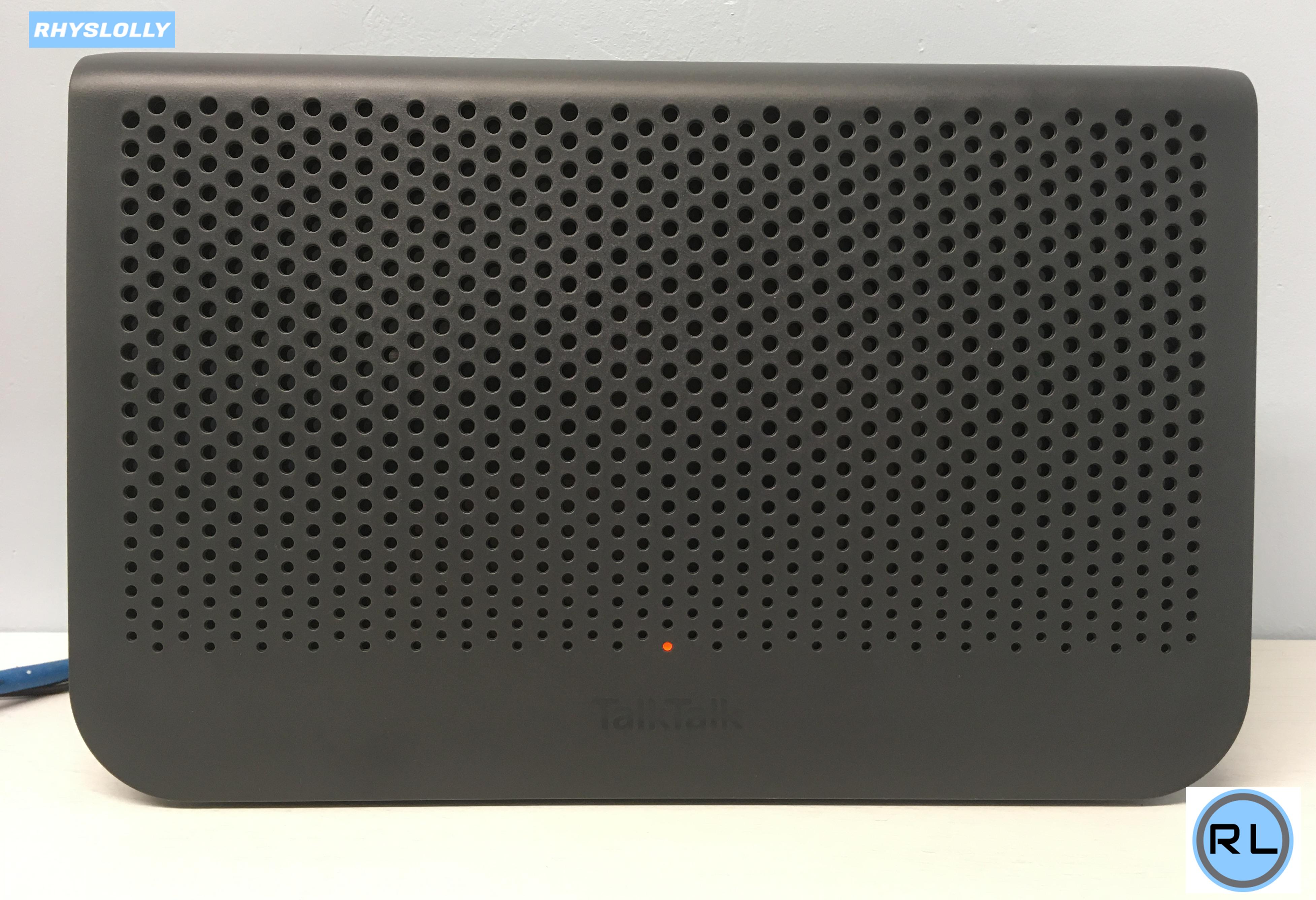 TalkTalk WiFi Hub Black (Huawei DG8041W) Review, Test and Tear-down